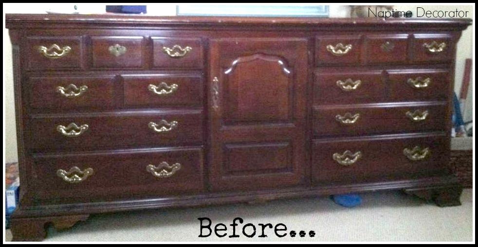 The Big Bad Dresser Makeover