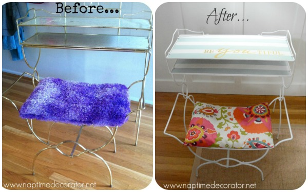 free vanity makeover