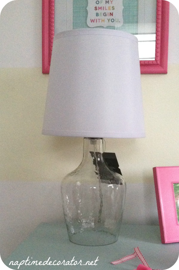 what to do with a plain glass base lamp