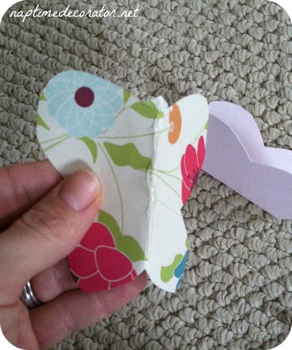 how to make 3D butterflies