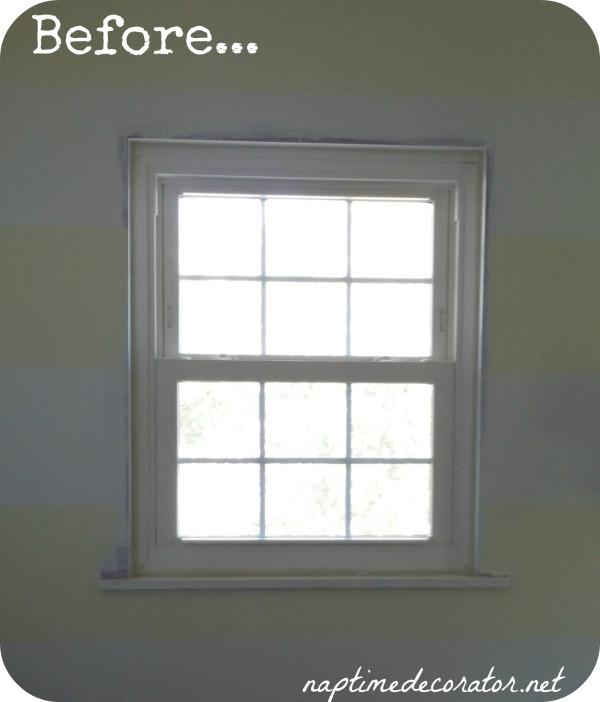 adding molding to windows