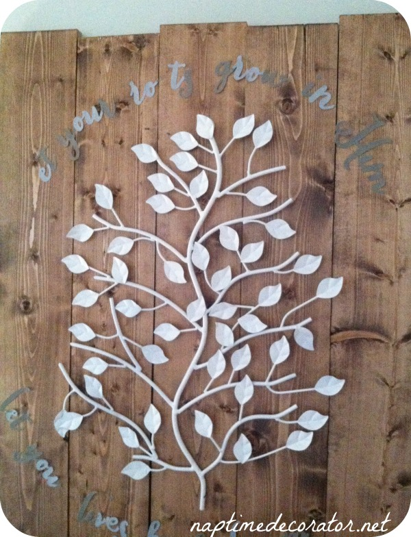 DIY Tree Art