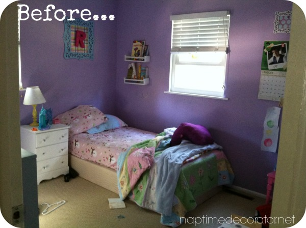 little girls' room makeover