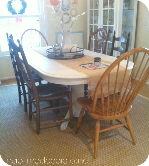 painting dining room chairs