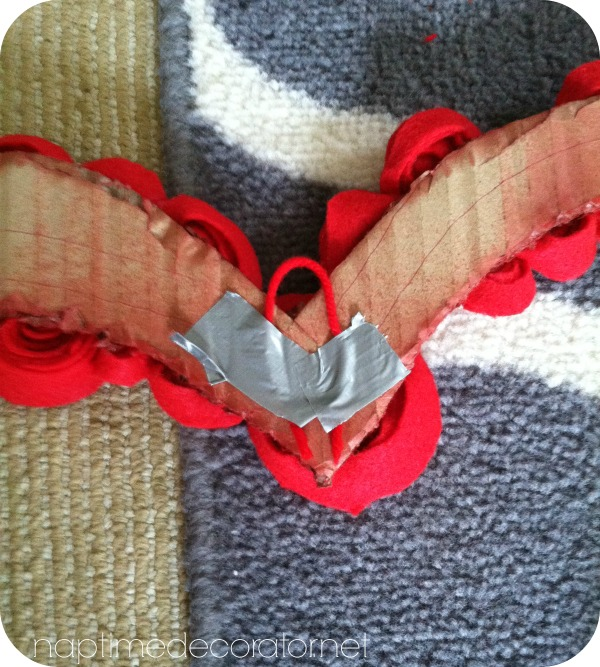 $1.50 heart wreath