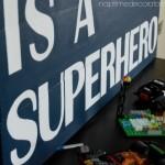 DIY Superhero sign