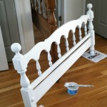 painting a bed