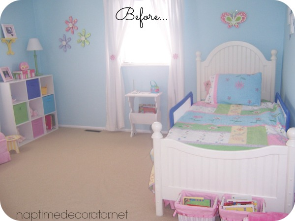 little girl to big girl room makeover