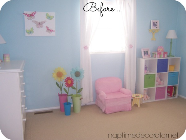 little girl to big girl room