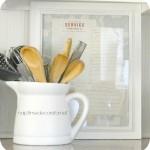 framed grandmother's recipes