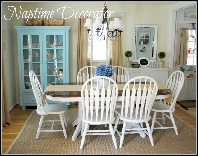 dining room makeover again