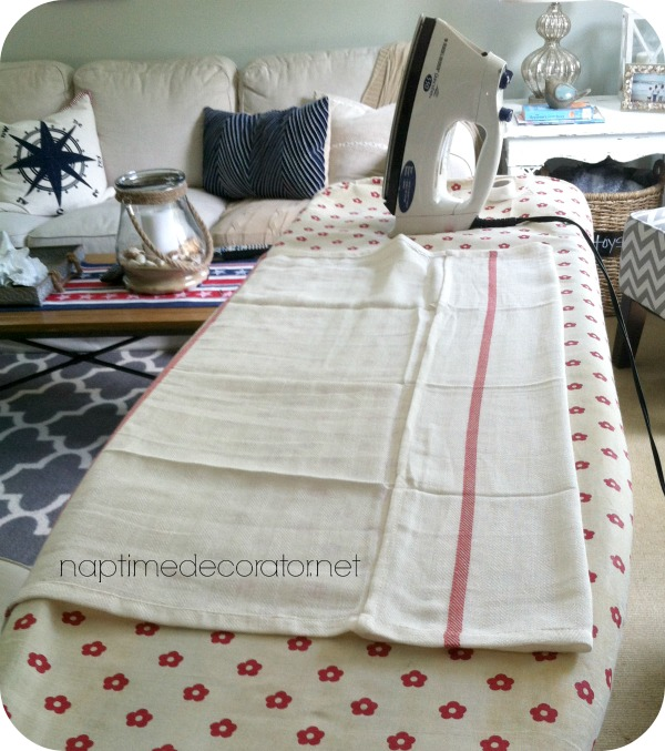 DIY no sew curtains
