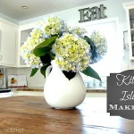 Giving the Kitchen Island a Makeover…and A Good Decorating Lesson