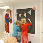 DIY Chalkboard and Banner