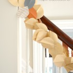 DIY Fall Paper Leaf Garland