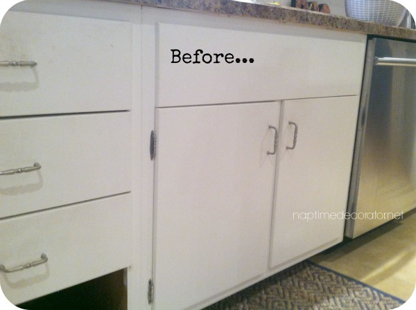 From Drab To Fab: Adding Trim To Cabinets