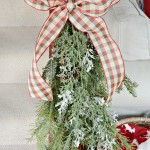 DIY Christmas swags