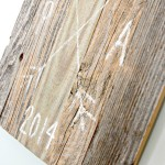 Driftwood DIY Wedding Sign