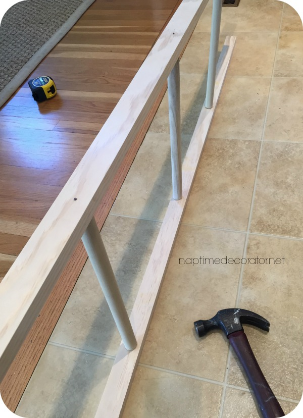 diy rustic ladder