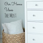 The 3 Things Our House Uses The Most