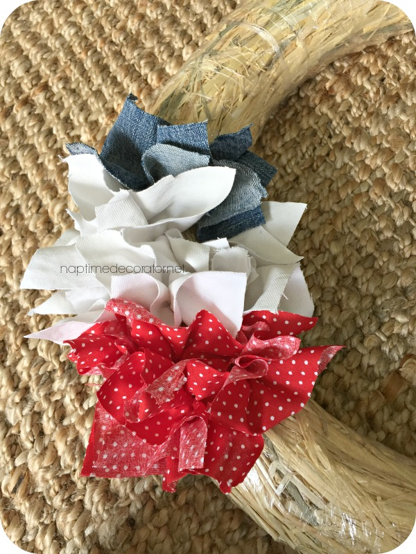 patriotic punch wreath