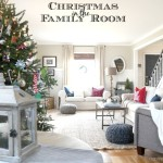 Christmas in the New Family Room: 2016