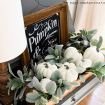 Using What You Have: Paint Those Pumpkins!