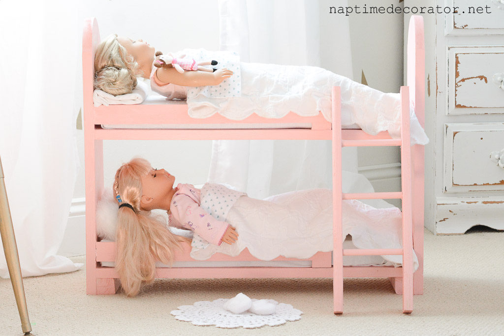 Diy Doll Bunk Bed Without Spending A Dime