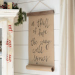 A DIY Christmas Craft Paper Scroll-y Thing…Or Something…