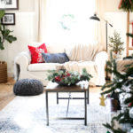 Christmas Family Room Tour 2017