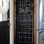 Quick Christmas Countdown Fridge