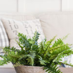 DIY Potted Faux Fern
