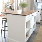 Kitchen Island Transformation: Adding Beadboard and Trim