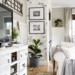 Adding Character with A German Smear Faux Brick Wall
